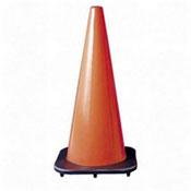 R3 Safety 3004023 Traffic Cone, 18'', Black Base, Orange, RTS3004023, RTS 3004023